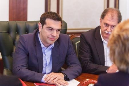 В. Матвиенко встреча с греком-2
