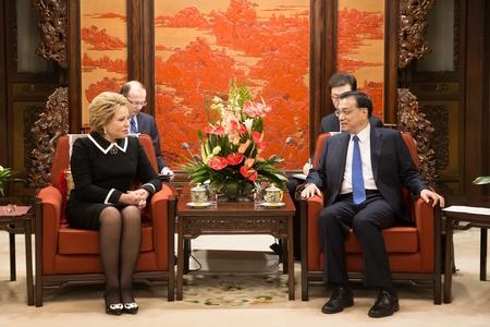Визит делегации Совета Федерации в Китай-19