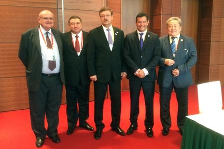 К. Косачев встретился в Ханое с главами делегаций стран БРИКС Бразилия
