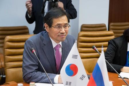 Чрезвычайный и Полномочный Посол Республики Корея в РФ Пак Ро Бёк