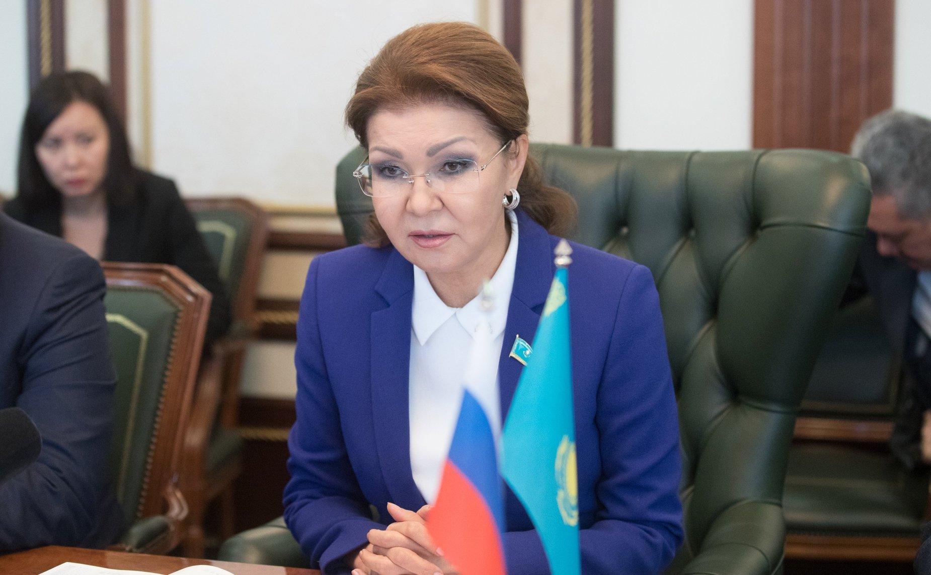 Фото детей дариги назарбаевой