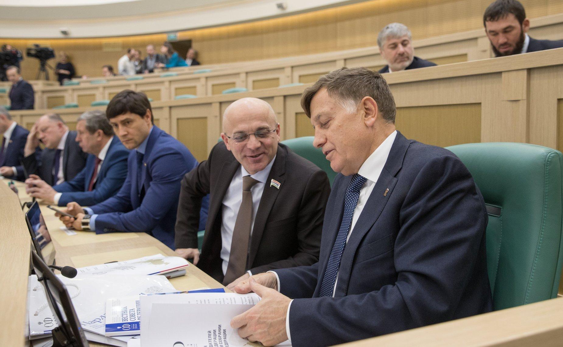 Член совета федерации рязанский