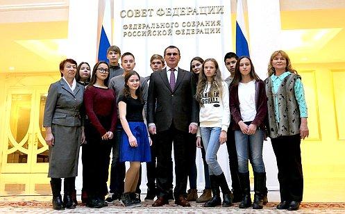 Н. Федоров: Необходимо воспитывать ушкольников активную жизненную позицию