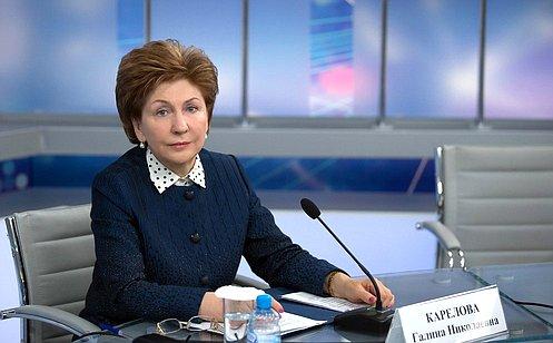 Г. Карелова: Необходимо создать все условия для здорового иактивного долголетия граждан пожилого возраста