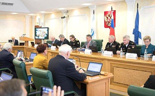 ВСовете Федерации состоялось юбилейное общее собрание Межрегиональной ассоциации– шефов Северного флота