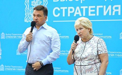 Л.Антонова провела встречу собщественностью Люберецкого района Подмосковья
