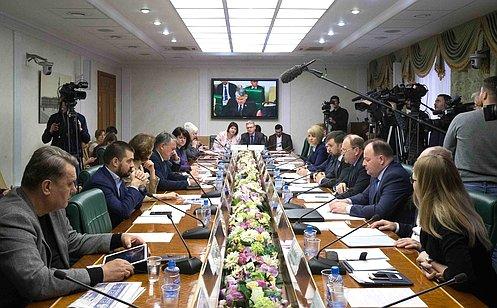 Комитет общественной поддержки жителей ЮВУ уделит особое внимание вопросам гуманитарного сотрудничества— Ю.Воробьев