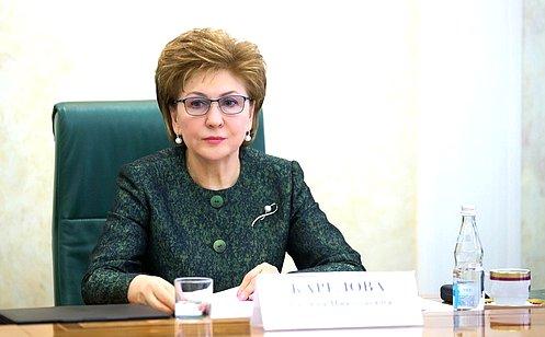 Г. Карелова: Для недопущения распространения коронавируса процедуру установления инвалидности целесообразно проводить дистанционно