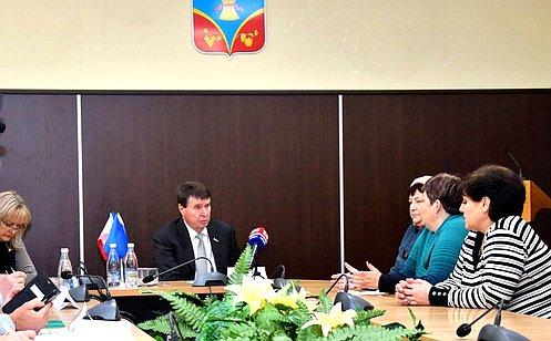 С. Цеков провел прием граждан вРеспублике Крым