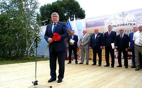 В. Рязанский: Важно сохранять священную память овоинах– героях Курской битвы
