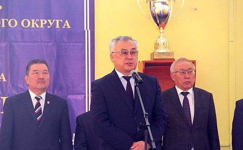 Б. Жамсуев: Открывшиеся вЗабайкальском крае спортивные соревнования способствуют патриотическому воспитанию молодежи