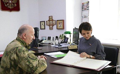 М. Павлова: Деятельность челябинских росгвардейцев характеризуют оперативность ивысокий уровень подготовки кадров