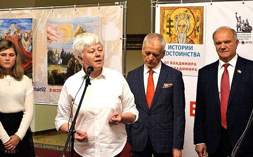 О. Тимофеева: Важно привлекать молодежь космыслению истории России путем участия висторико-культурных проектах