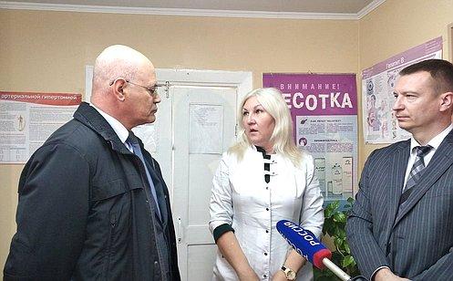 В. Круглый: Организация работы ФАПов вкаждом районе— важное звено вохране здоровья человека