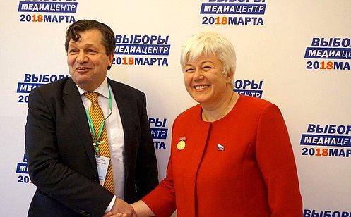О. Тимофеева: Международные наблюдатели считают выборы Президента РФ вКрыму подтверждением легитимности референдума 2014года