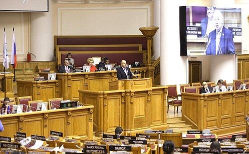 И. Умаханов: Дискуссия поосновным документам 137-й Ассамблеи МПС носила продуктивный характер
