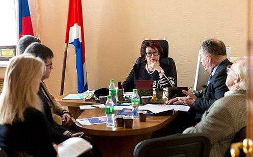 Л.Талабаева: Совет Федерации ждет отрыбаков предложений поострым вопросам отрасли