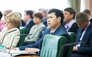 Заседание Совета по вопросам жилищного строительства и содействия развитию жилищно-коммунального комплекса Ооржак