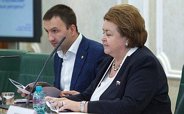 ВСовете Федерации состоялась встреча сучастниками Общероссийского форума «100-бальники– российские интеллектуальные ресурсы»