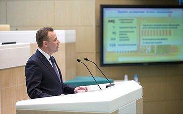 Глава заксобрания Архангельской области В. Новожилов