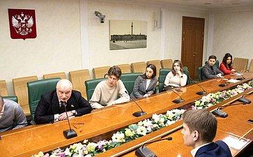 Встреча Андрея Клишаса состудентами Юридического института РУДН
