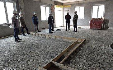 Николай Федоров ознакомился сходом строительства дополнительного четырехэтажного корпуса Федерального центра травматологии, ортопедии иэндопротезирования вг.Чебоксары