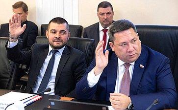 Заседание Комитета СФ поРегламенту иорганизации парламентской деятельности