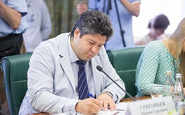 В Совете Федерации состоялось заседание Комитета общественной поддержки жителей Юго-Востока Украины-11 Максим Григорьев