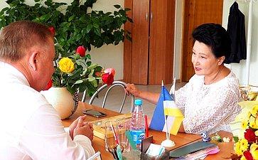 Вячеслав Наговицын вшколе №47 Улан-Удэ принял участие вторжественной линейке, посвященной Дню знаний