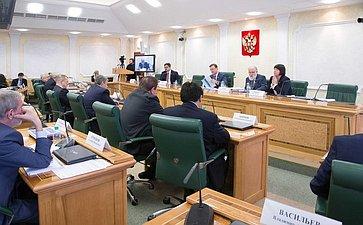 Расширенное заседание Комитета СФ пофедеративному устройству, региональной политике, местному самоуправлению иделам Севера сучастием представителей ЦИК