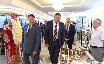 Выставка достижений Вологодской области вСовете Федерации