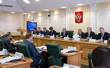 Заседание президиума Совета поАрктике иАнтарктике при СФ