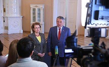 Юрий Воробьев иМарианна Щеткина