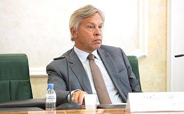 А.Пушков обсудил спредставителями ОБСЕ тематику нарушения прав исвобод журналистов наУкраине
