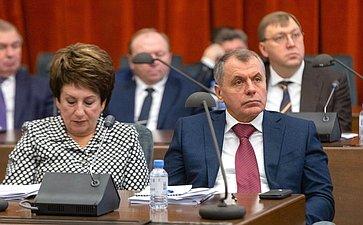 Семинар для руководителей законодательных (представительных) органов государственной власти субъектов РФ– членов Совета законодателей РФ
