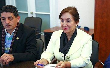 Член Национальной ассамблеи Эквадора Дорис Солис
