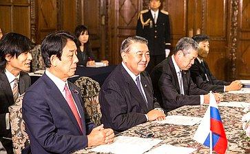 Председатель нижней палаты Парламента Японии Тадамори Осима