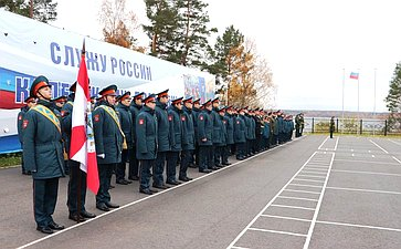 Юрий Воробьев принял участие вторжественной церемонии приведения кадет кклятве