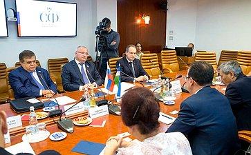 Встреча сзаместителем Председателя Конституционного суда Узбекистана А. Гафуровым