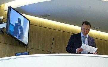 Полномочный представитель Президента России вСовете Федерации Артур Муравьев