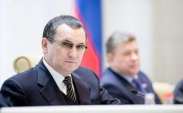 Федоров 380-е заседание Совета Федерации