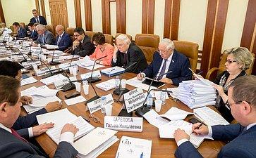 Заседание Комитета СФ пофедеративному устройству, региональной политике, местному самоуправлению иделам Севера