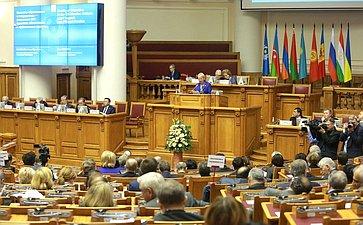 ВСанкт-Петербурге состоялось 45-е пленарное заседание МПА СНГ