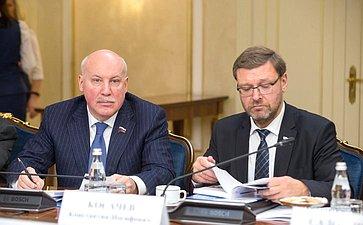 Дмитрий Мезенцев иКонстантин Косачев