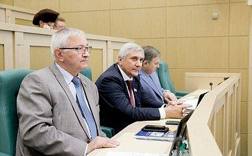 376-е заседание Совета Федерации. Дидигов и Паланкоев