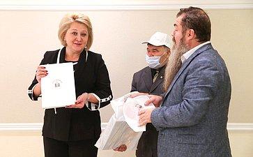 Открытие вСовете Федерации выставки «Наша республика», посвященной 100-летию ТаССР