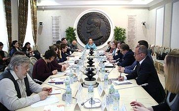Л.Глебова приняла участие впрезентации лучших практик регионов поподдержке социально ориентированных НКО