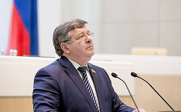 Семенов. 384-е заседание Совета федерации