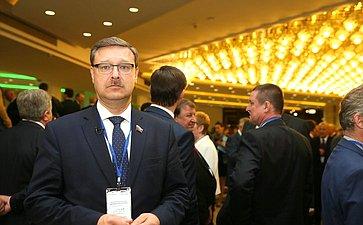 Российские сенаторы наТретьем форуме регионов Беларуси иРоссии