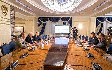 Встреча Сергея Кисляка счленом Комитета поиностранным делам Бундестага ФРГ Родерихом Кизеветтером